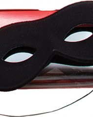 Black Domino Mask Eyemask Bandit Robber Superhero Mask