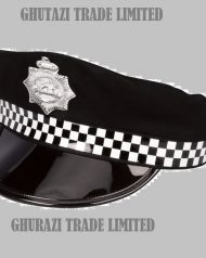 Policeman Hat fancy dress cap UK Police Street Hat Adult One Size Police Cape Accessory