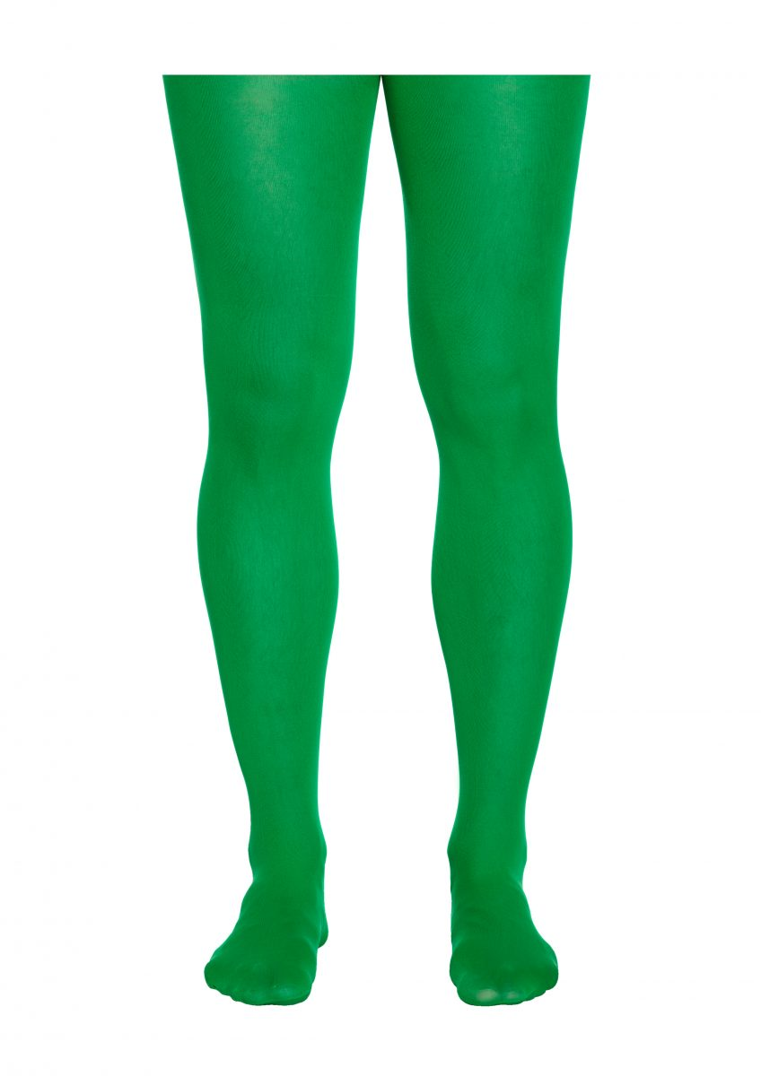 Green Tight Adult Fancy Dress Peter Pan Elf Halloween Fashion Tight Accessory